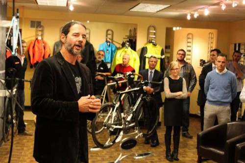 World Bicycle Relief's FK Day speaking about how his time in Africa changed him and prompted the founding of WBR.