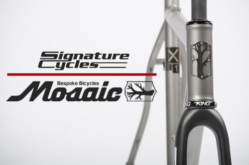 Signature Cycles welcomes Mosaic Bespoke Bicycles